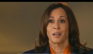 Kamala Gets Testy About Being Called a Socialist on 60 Mins, Sounded Like She Could Cry